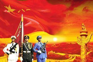 手枪诗•持奉中国军人
